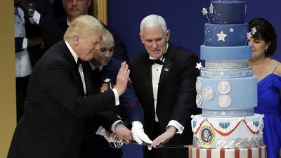 The firestorm behind Trump's 'ripped-off' Inauguration cake, explained