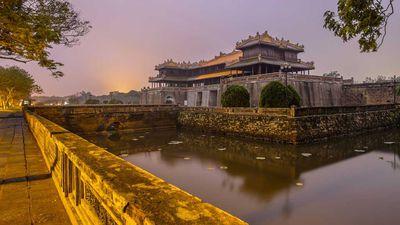 Step inside Vietnam's former Imperial City after dark thanks to extended trading hours