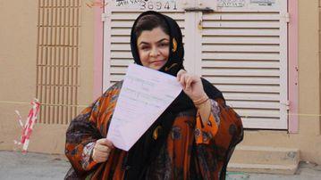 Haifa al-Hababi. (Lubna Hussein/NBC News)