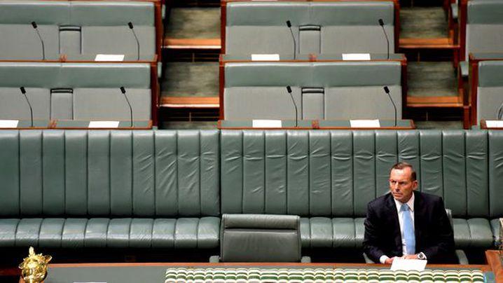 Abbott lambasted in a piece called 'Tony Abbott has to go'.