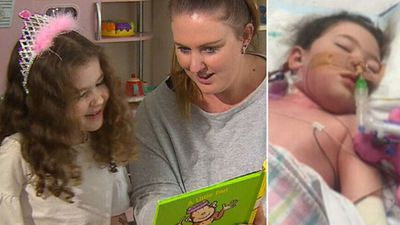 Mum's plea after daughter nearly dies from flu