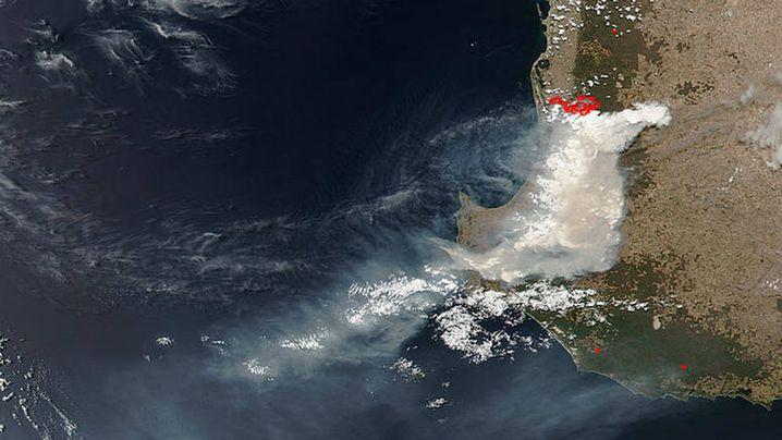 The image was snapped by NASA's Suomi NPP satellite. (NASA)