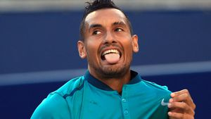 Kyrgios loses temper, and match