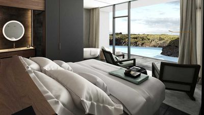 Stay on the edge of Iceland's iconic blue lagoon at its new luxury lodgings