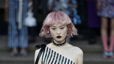 Australian model rules all-Asian runway