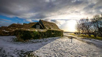 Photographer's snaps of Iceland's Skogar Folk Museum show a village trapped in time
