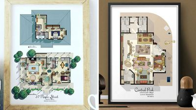 Here's what the floorplan from your favourite TV show actually looks like