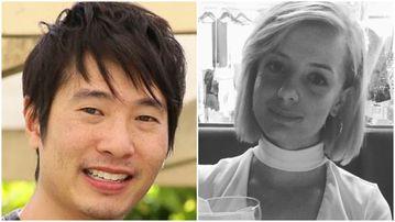 Matthew Si, 33, and Jess Mudie, 22. (Victoria Police)