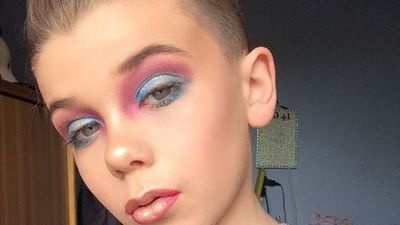 The latest beauty star is a 10-year-old boy