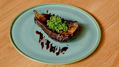 Toko's nasu miso eggplant