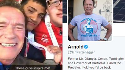 Arnie schools troll who made fun of Special Olympics athletes
