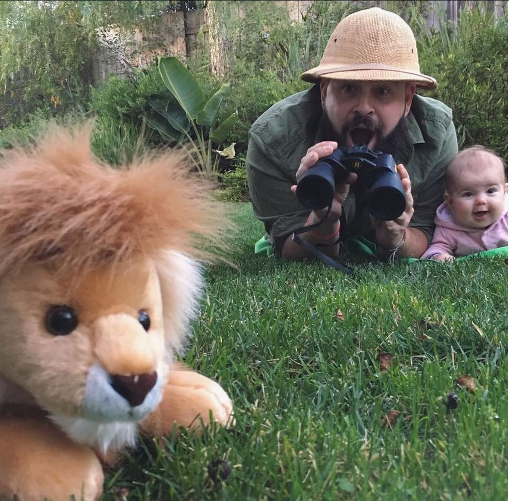 Hunting lions is a serious business.