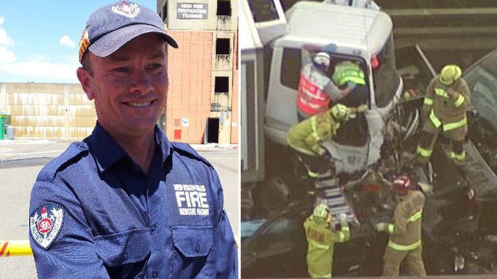 Drew Cullen was an experienced firefighter. (9NEWS)