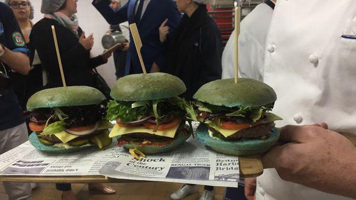 The Angus Blue Burger. (9NEWS)