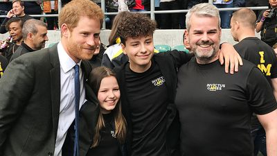 Prince Harry tells kids who lost their mum 'it will get better'