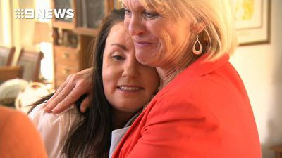 Domestic violence survivor reunites with hero neighbours