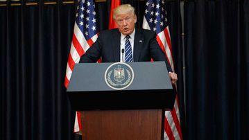 Donald Trump palestine