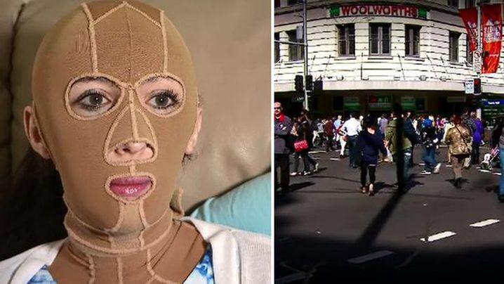 Sarah Manganas said she was  made to feel like a criminal. (9NEWS)