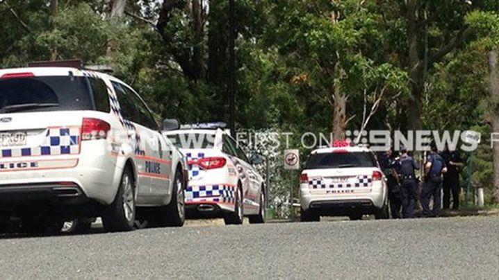 Police at the scene. (9NEWS)