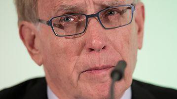 Professor Richard McLaren. (AFP)