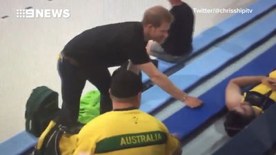 Prince Harry arrives in Toronto for the Invictus Games