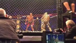Horrific sound of MMA fighter's skull being crushed