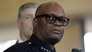 Dallas Police Chief David Brown. (AAP)
