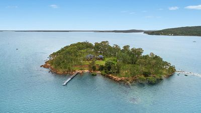 Ultimate escapist's island in NSW up for grabs
