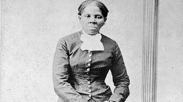 Harriet Tubman, between 1860 and 1875. (AAP)