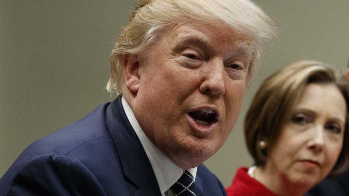 Donald Trump. (AAP)