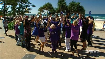 'It's my life': The controversial reason seniors gathered for a flash mob