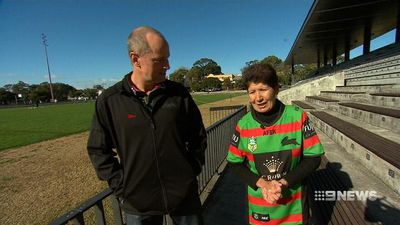 Rabbitohs coach and nun join forces for charity