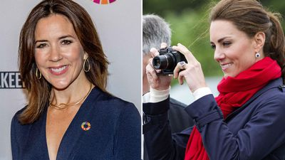 Princess Mary takes a leaf out of Kate Middleton's book