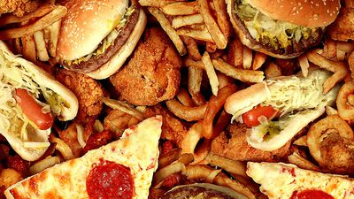 Stress and junk food could be equally bad for your gut health