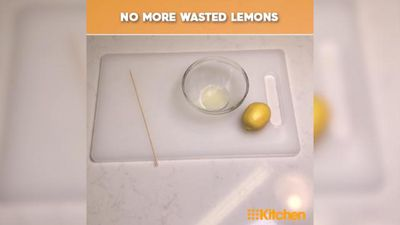 The lemon juice hack that will save your lemons and stop your pips