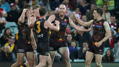 Hawks pip Swans in AFL thriller