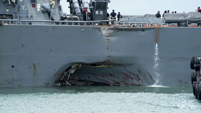 Sailor's remains recovered from damaged US Navy ship