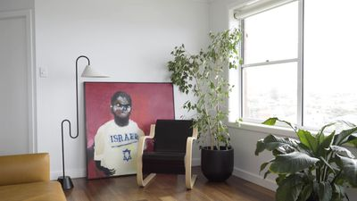 How to style artwork in a rental