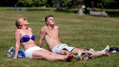 Britain swelters through hottest June day in 41 years