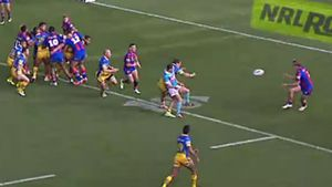 Eels fume over referee bump