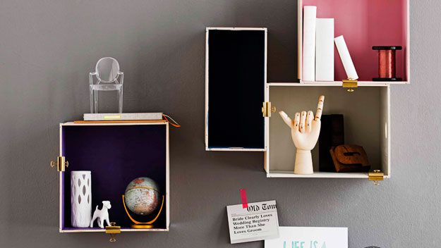 Wall box storage