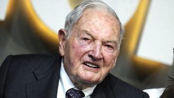 David Rockefeller has died aged 101. (AFP)