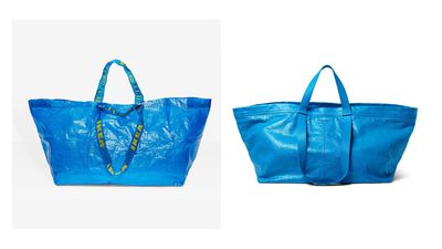 Ikea responds to Balenciaga's copycat tote bag