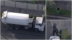 Garbage worker finds man's body in Melbourne rubbish bin