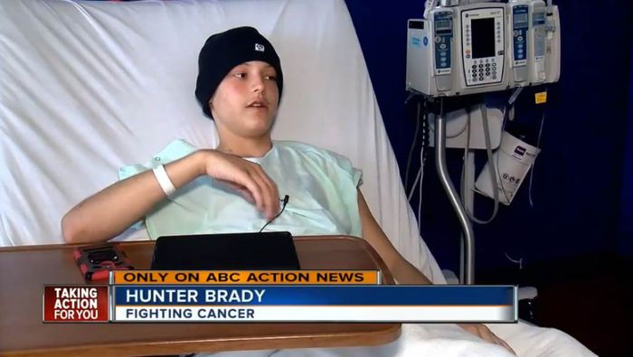 Teen originally diagnosed with flu discovers he is battling stage 4 cancer