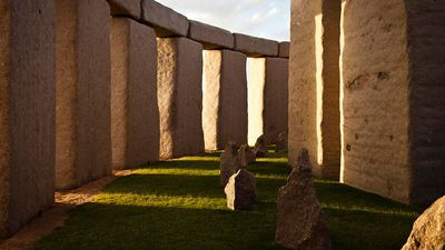 Australian couple build $5m Stonehenge in their back yard