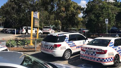 Bomb, hostage threats against Qld school