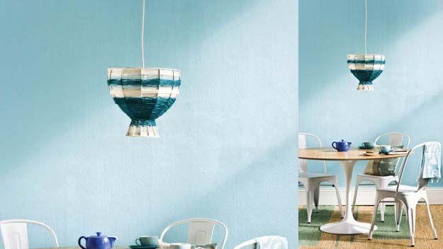 Handywoman: make your own woollen pendant lamp cover