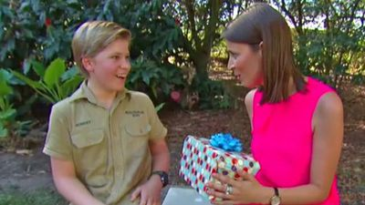 Terri Irwin says Robert is 'so much like his dad' as he celebrates 13th birthday