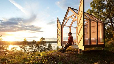 The Swedes want you to live in a glass cabin to decrease your stress